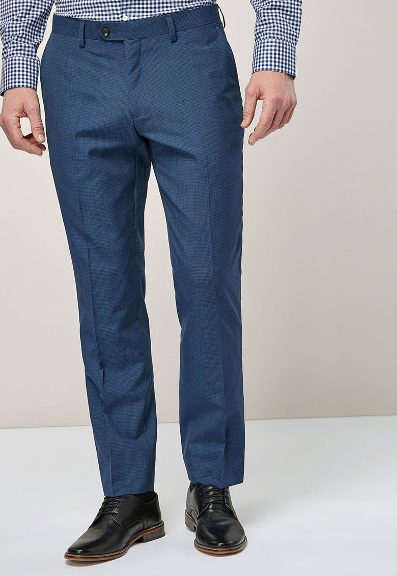 Pantaloni eleganti de lana italiana – cu croiala tailored fit de la NEXT