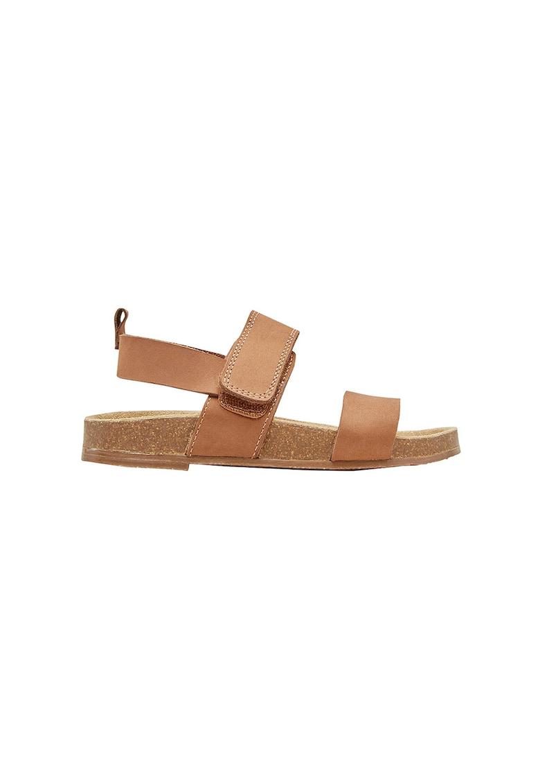 Sandale de piele cu velcro NEXT