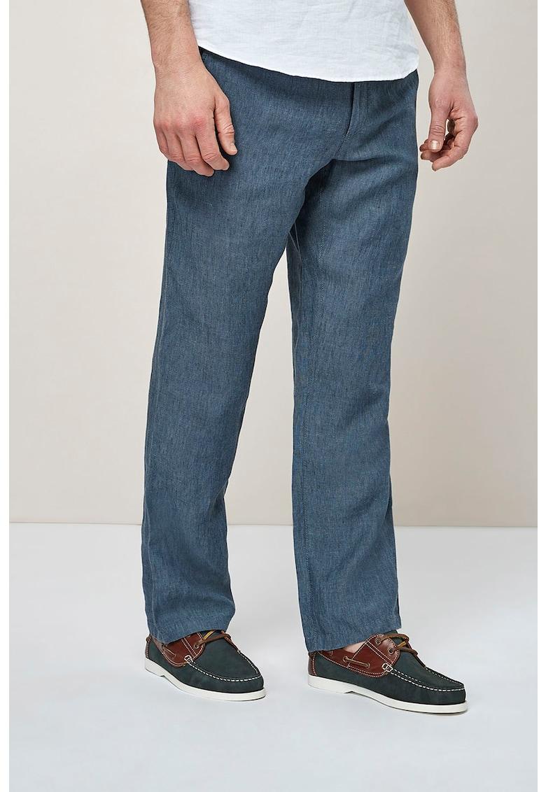 NEXT Pantaloni de in – cu snur pentru ajustare