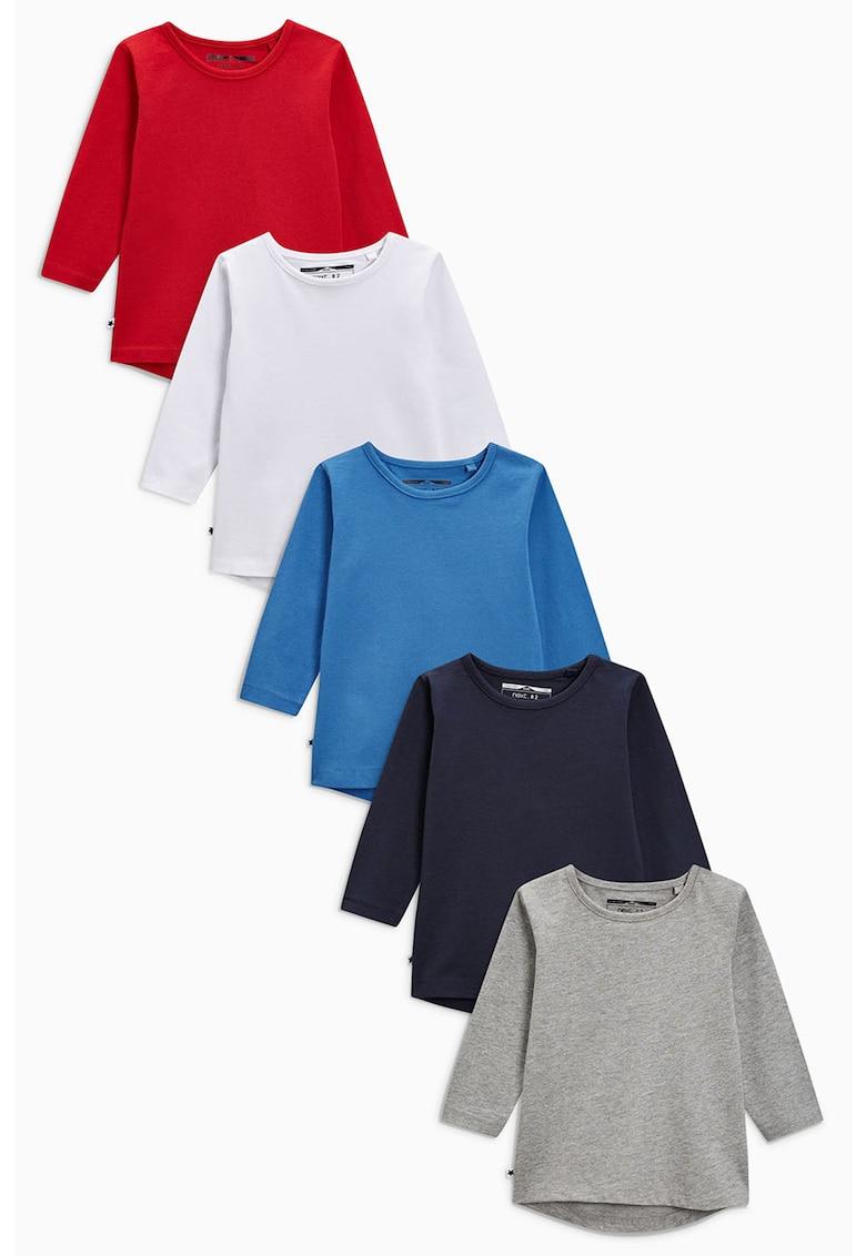 Set de bluze cu model uni – 5 piese de la NEXT