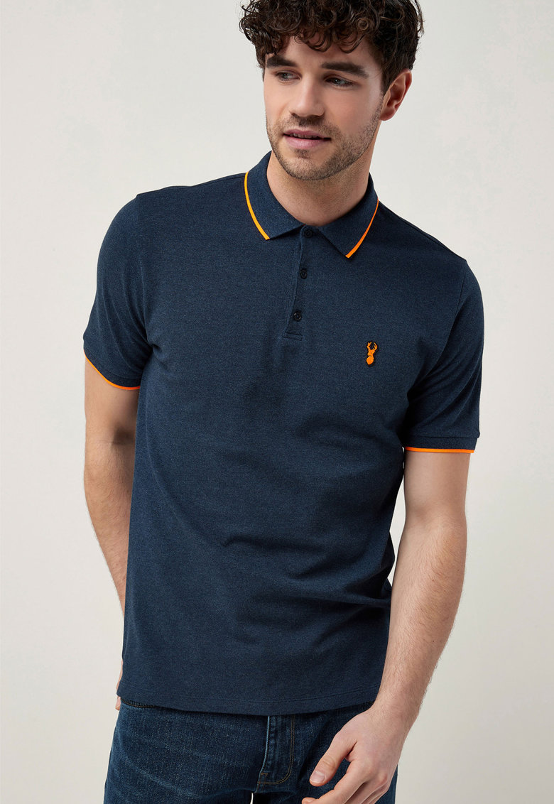 Tricou polo slim fit
