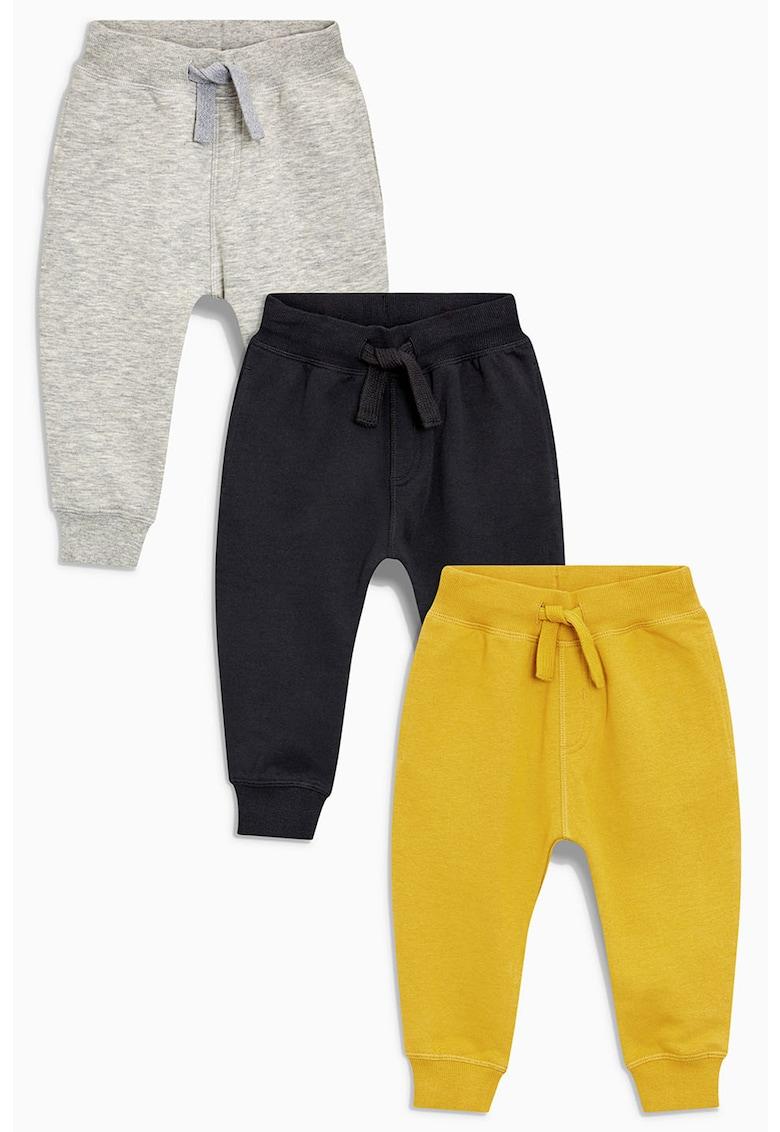 Set de pantaloni jogger Essential – 3 perechi NEXT