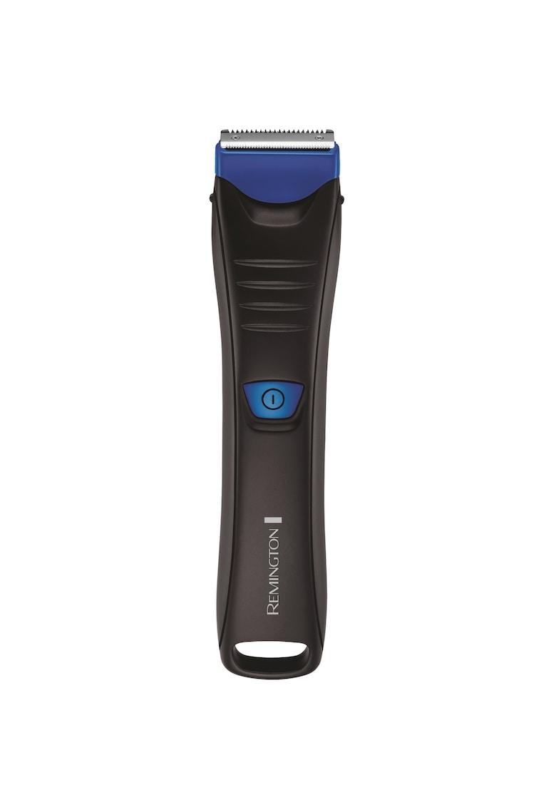 Aparat de tuns corporal   – Trimmer – Acumulator – Indicator LED – Negru/Albastru de la Remington