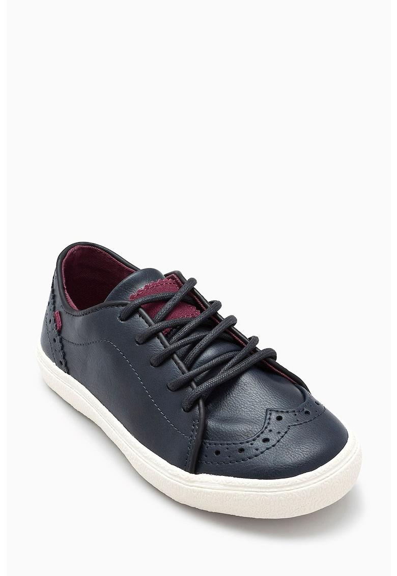 Pantofi sport brogue cu insertii de piele de la NEXT