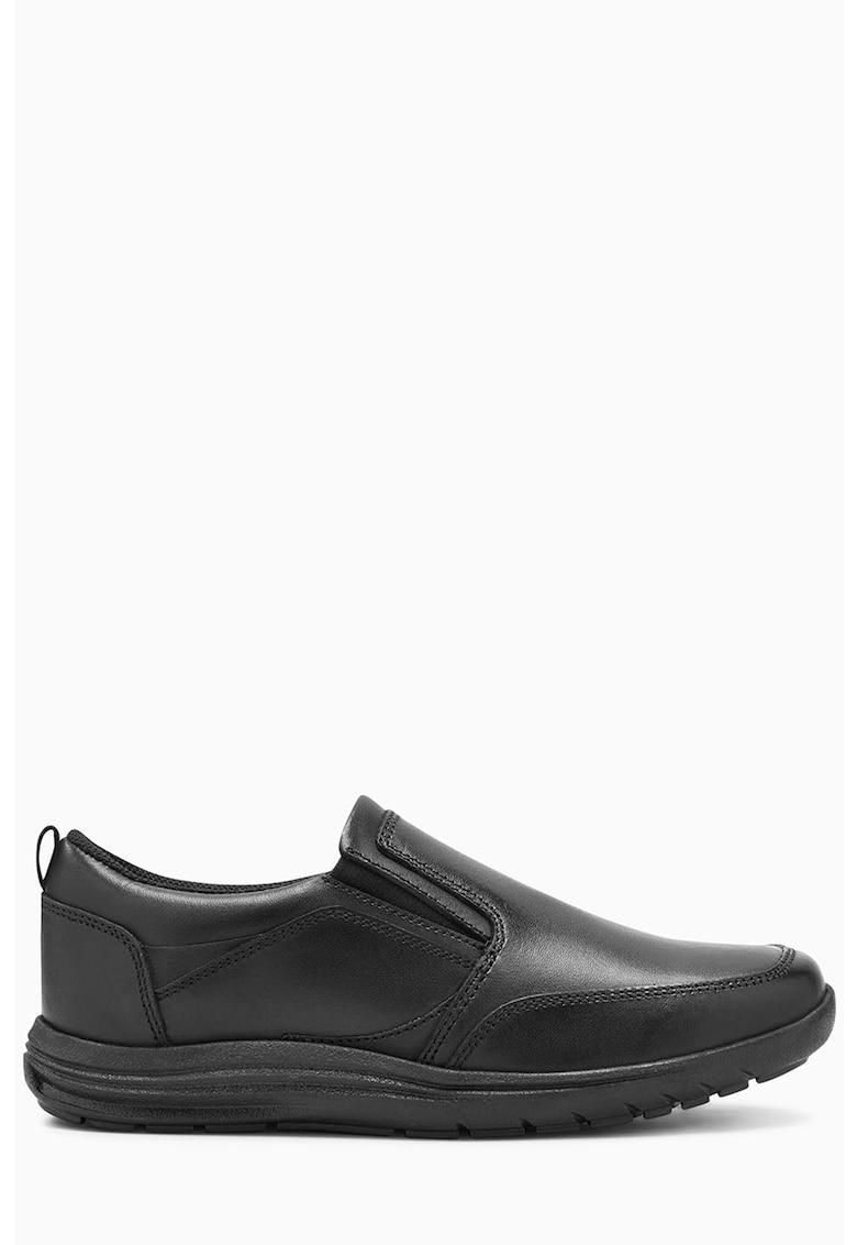 Pantofi slip-on de piele
