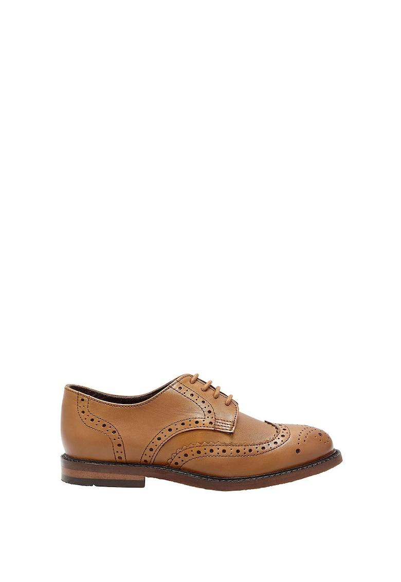 Pantofi Brogue de piele