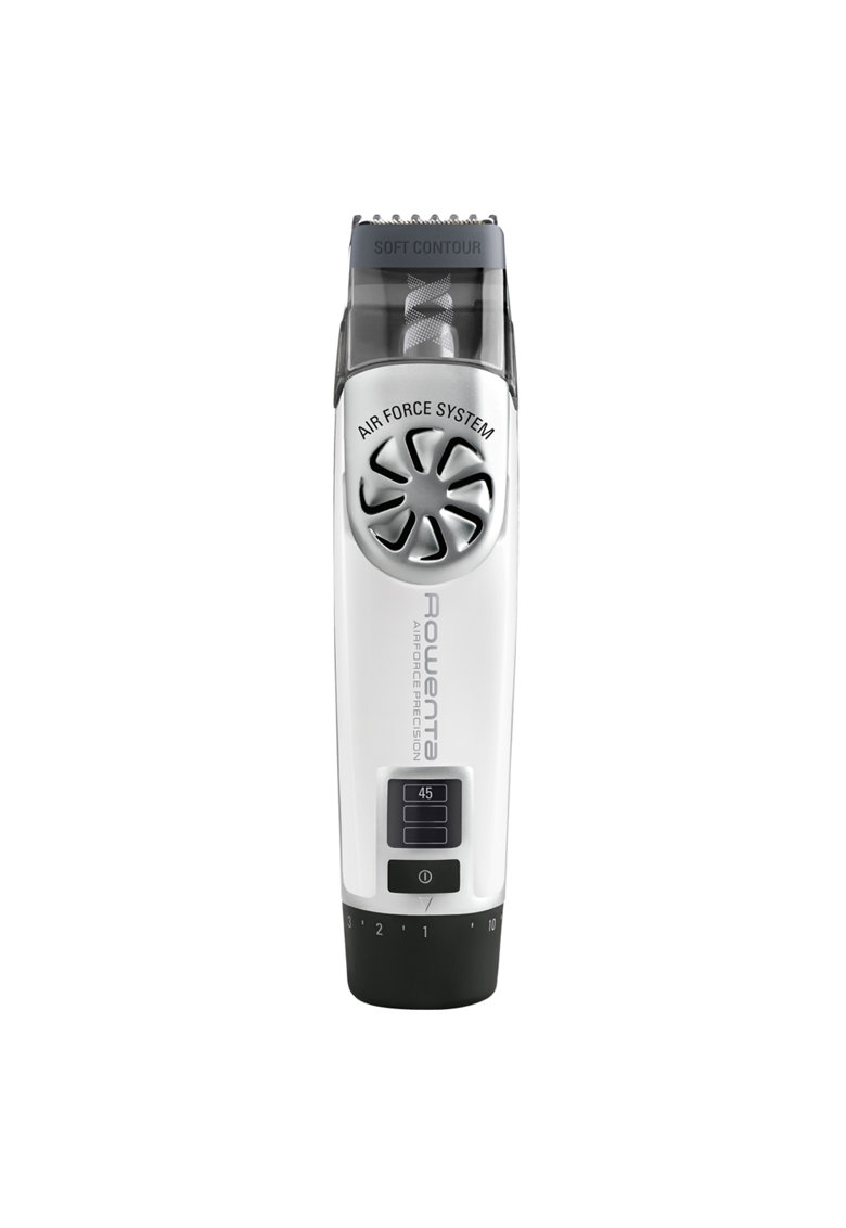 Rowenta Aparat de tuns barba  AirForce Precision TN4800 - Acumulator - 1-10 mm - Negru/Alb