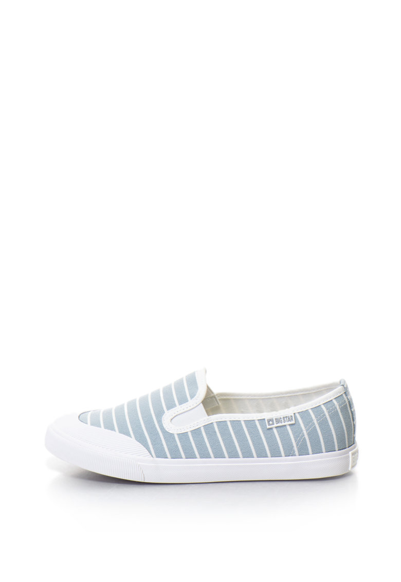 BIG STAR Pantofi slip-on cu model in dungi