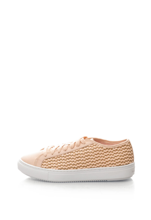 Le Coq Sportif Pantofi sport cu aspect texturat si tesut Jane
