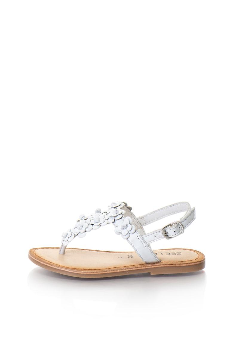 Sandale de piele cu bareta separatoare Jocosa Zee Lane