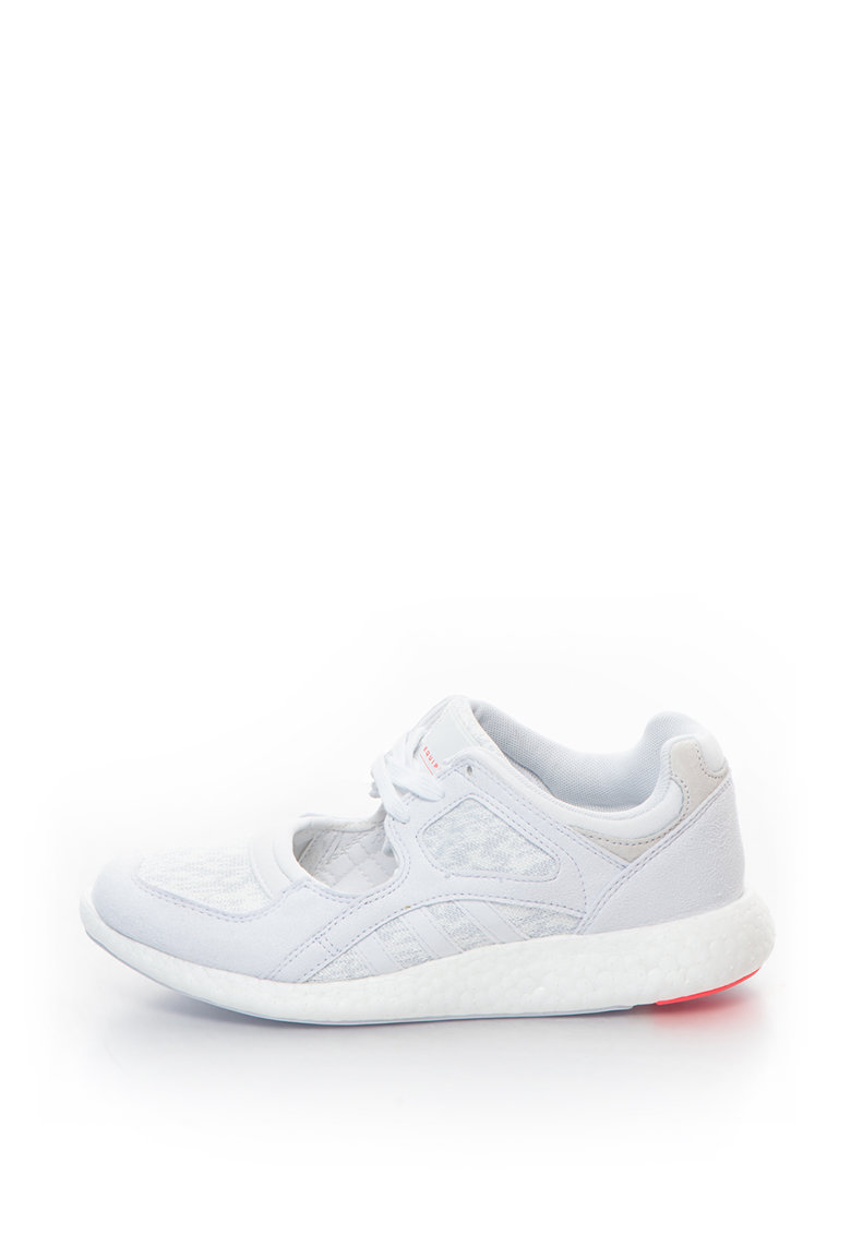 Pantofi sport din material textil si piele intoarsa sintetica – cu decupaj Equipment Racing 91/16 de la Adidas ORIGINALS