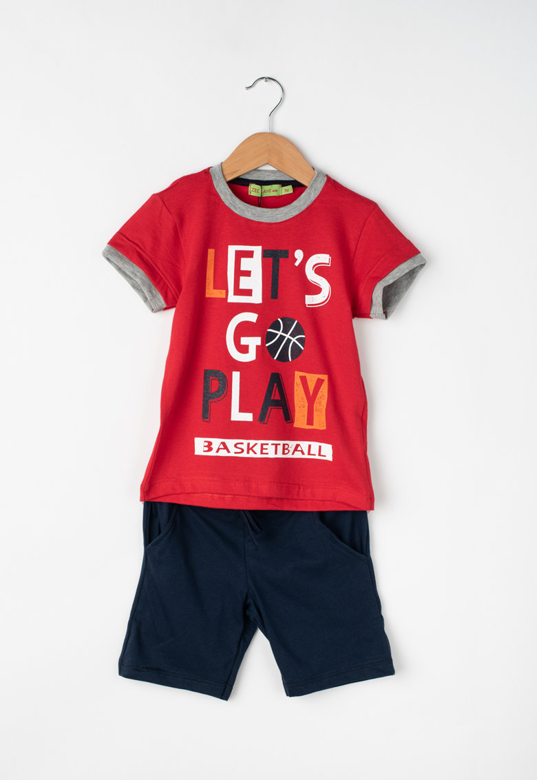 Zee Lane Kids Set de tricou si bermude