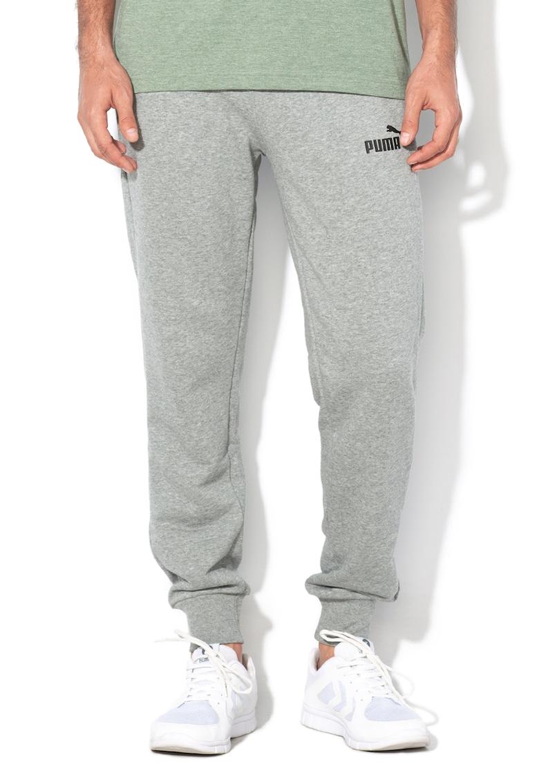 Pantaloni sport regular fit cu imprimeu logo