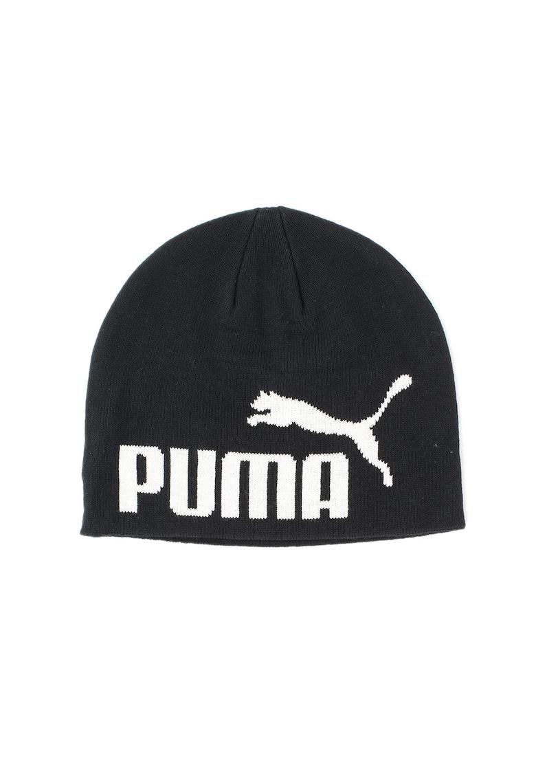 Caciula tricotata fin cu logo ESS Big Cat de la Puma