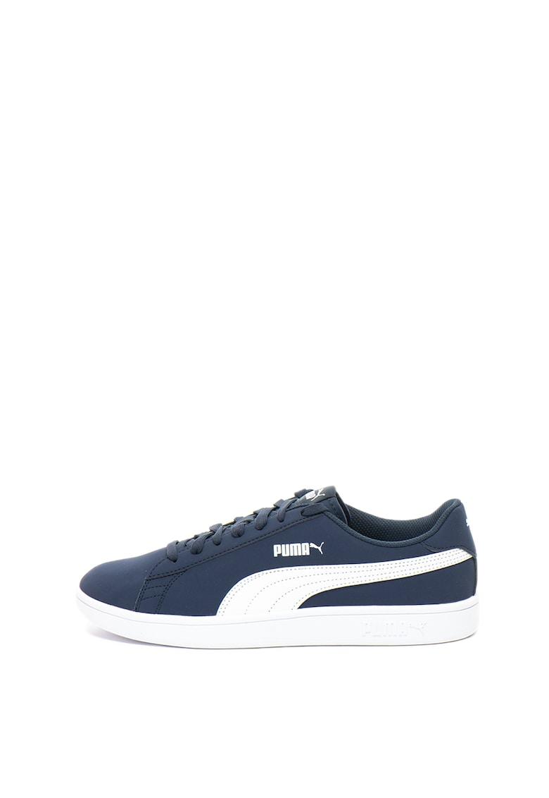 Puma Pantofi sport cu garnituri contrastante Smash v2