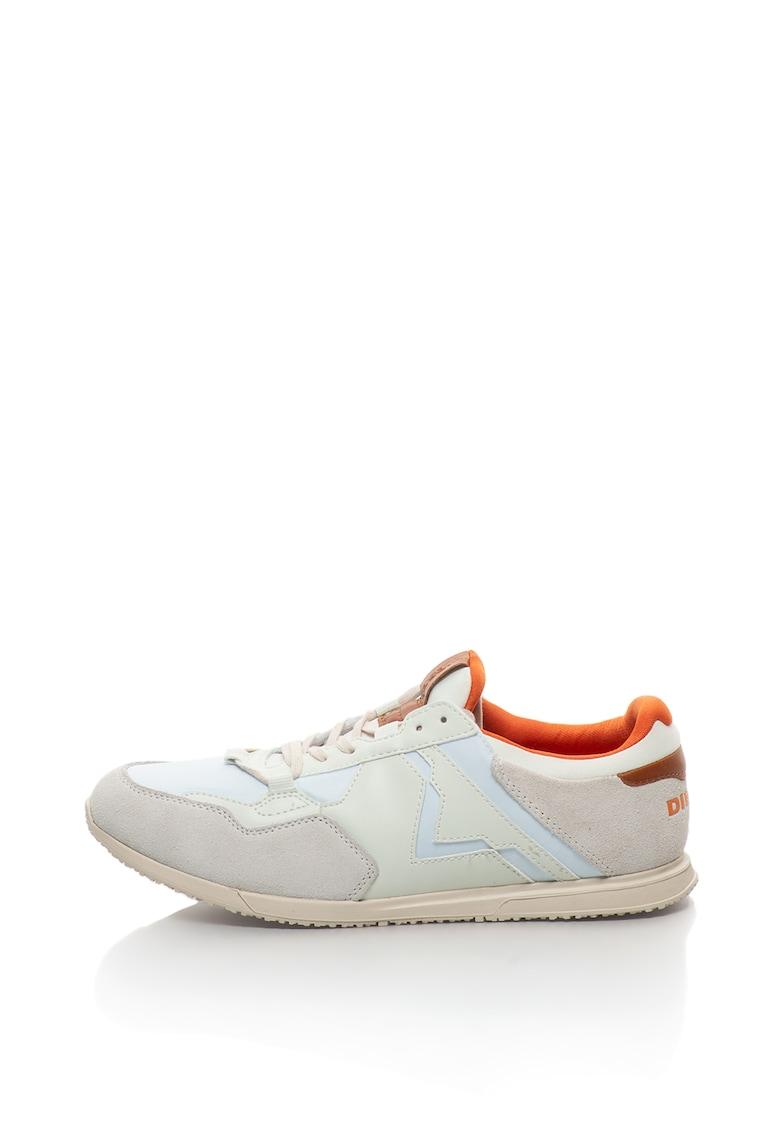 Pantofi sport slip-on cu garnituri de piele intoarsa Furyy Diesel