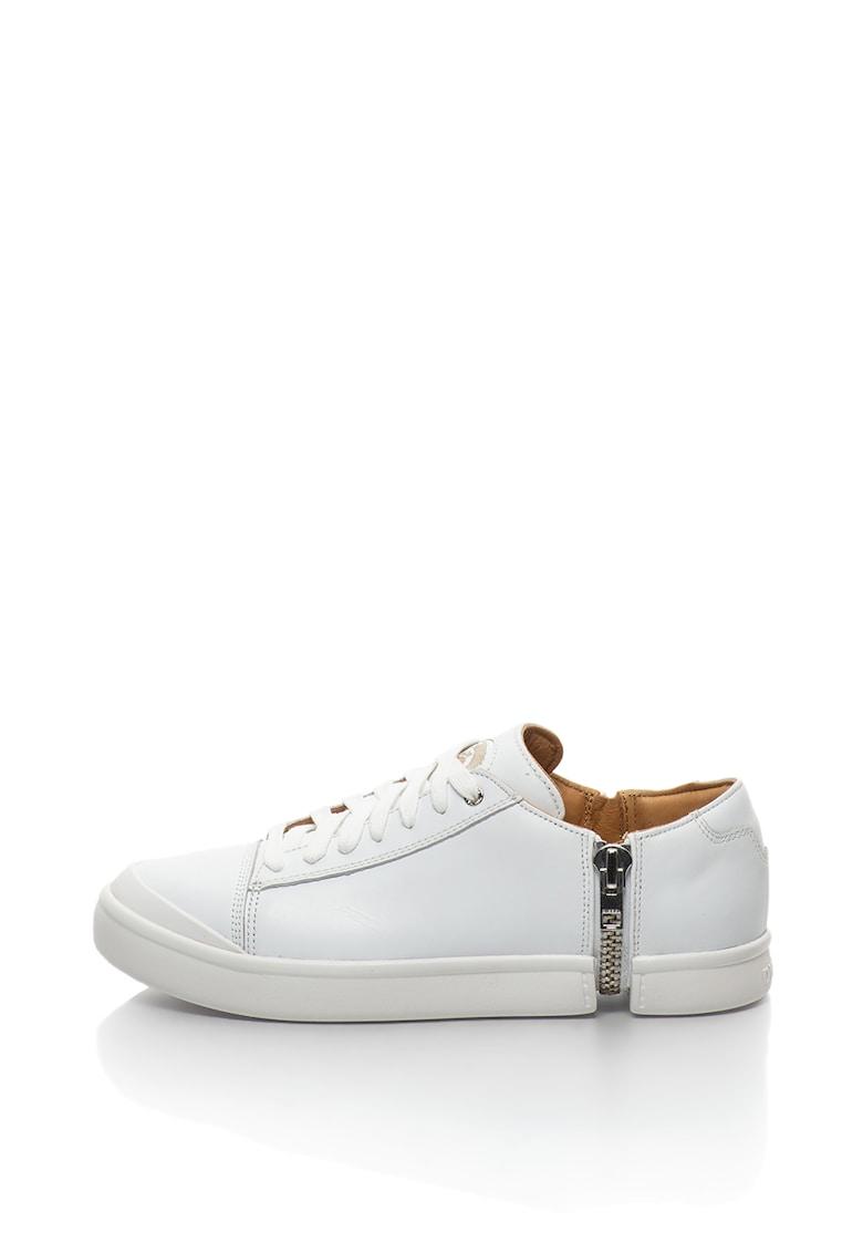 Pantofi sport de piele cu detaliu cu fermoar Nentish