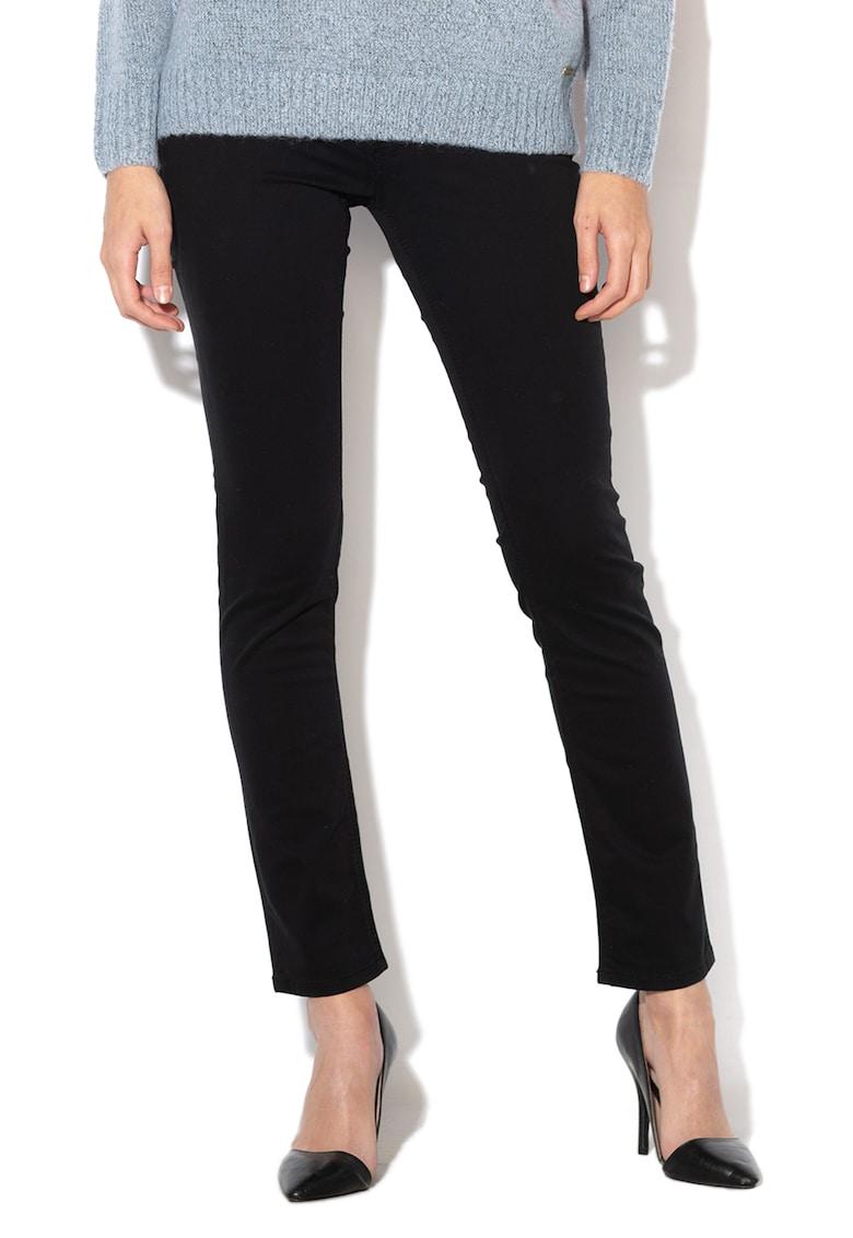 Pantaloni slim fit - cu aspect catifelat New Brooke imagine promotie