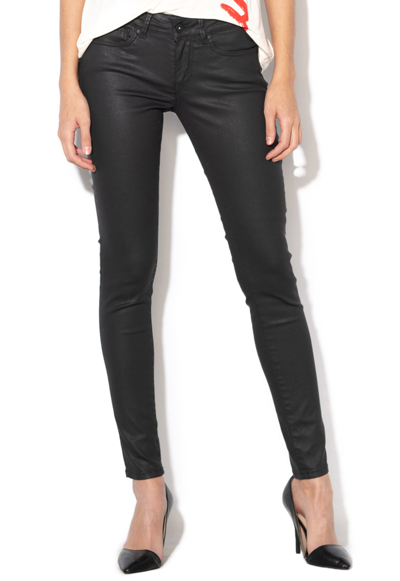 Blugi skinny – cu aspect peliculizat Pixie de la Pepe Jeans London