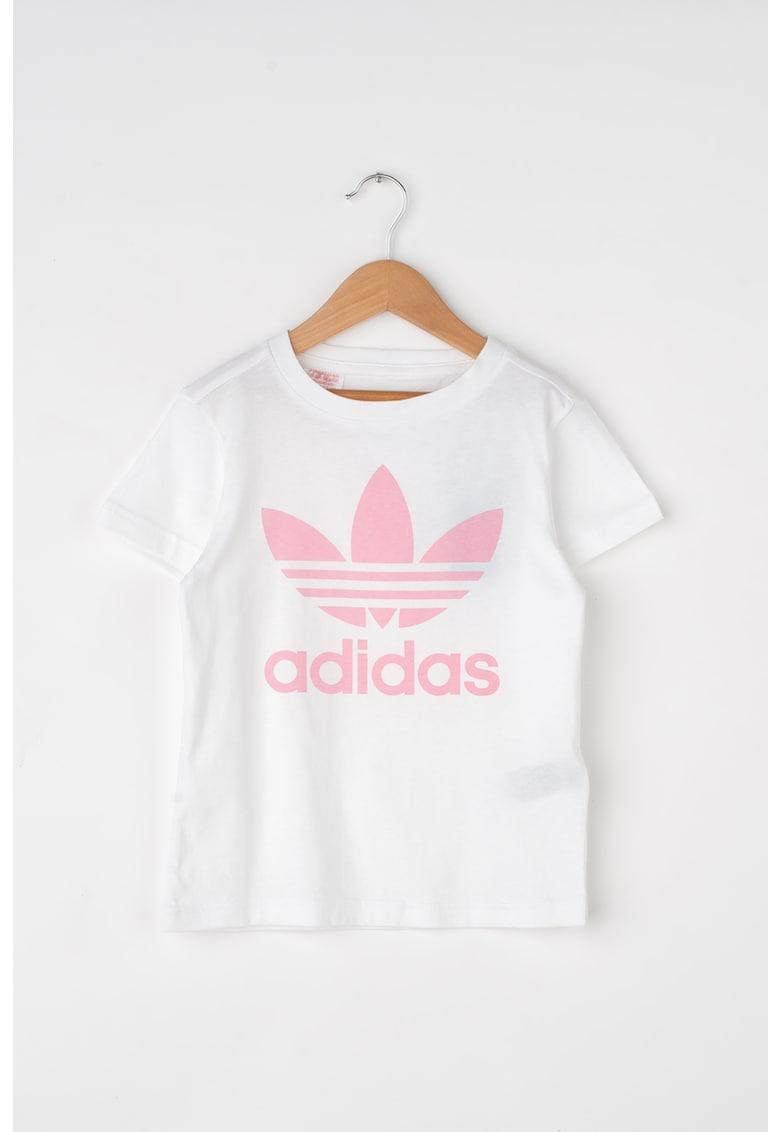 Tricou din bumbac cu logo de la Adidas ORIGINALS
