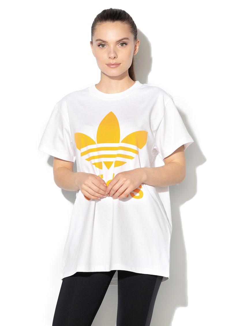 Adidas ORIGINALS Tricou cu imprimeu logo Big Trefoil