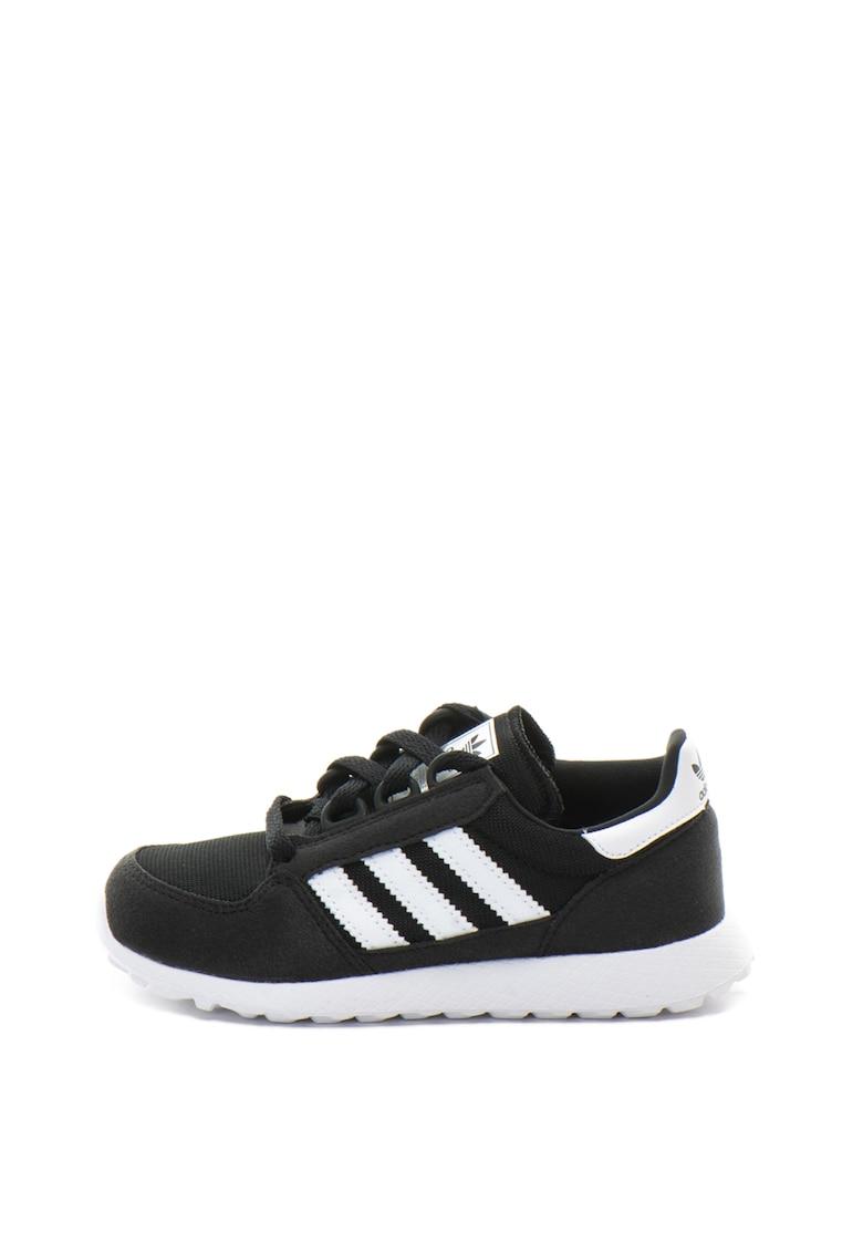 Pantofi sport cu insertii de plasa Forest Groove