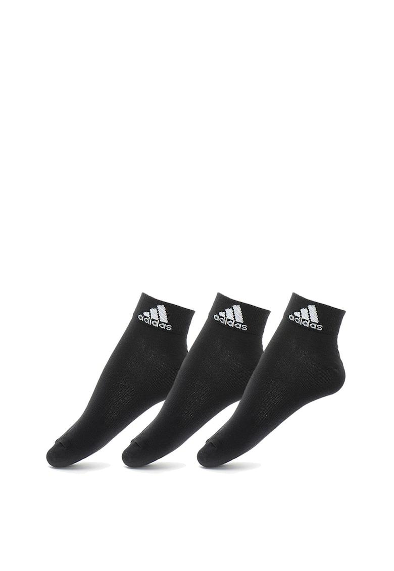 Adidas PERFORMANCE Set de sosete scurte unisex – pentru antrenament – 3 perechi