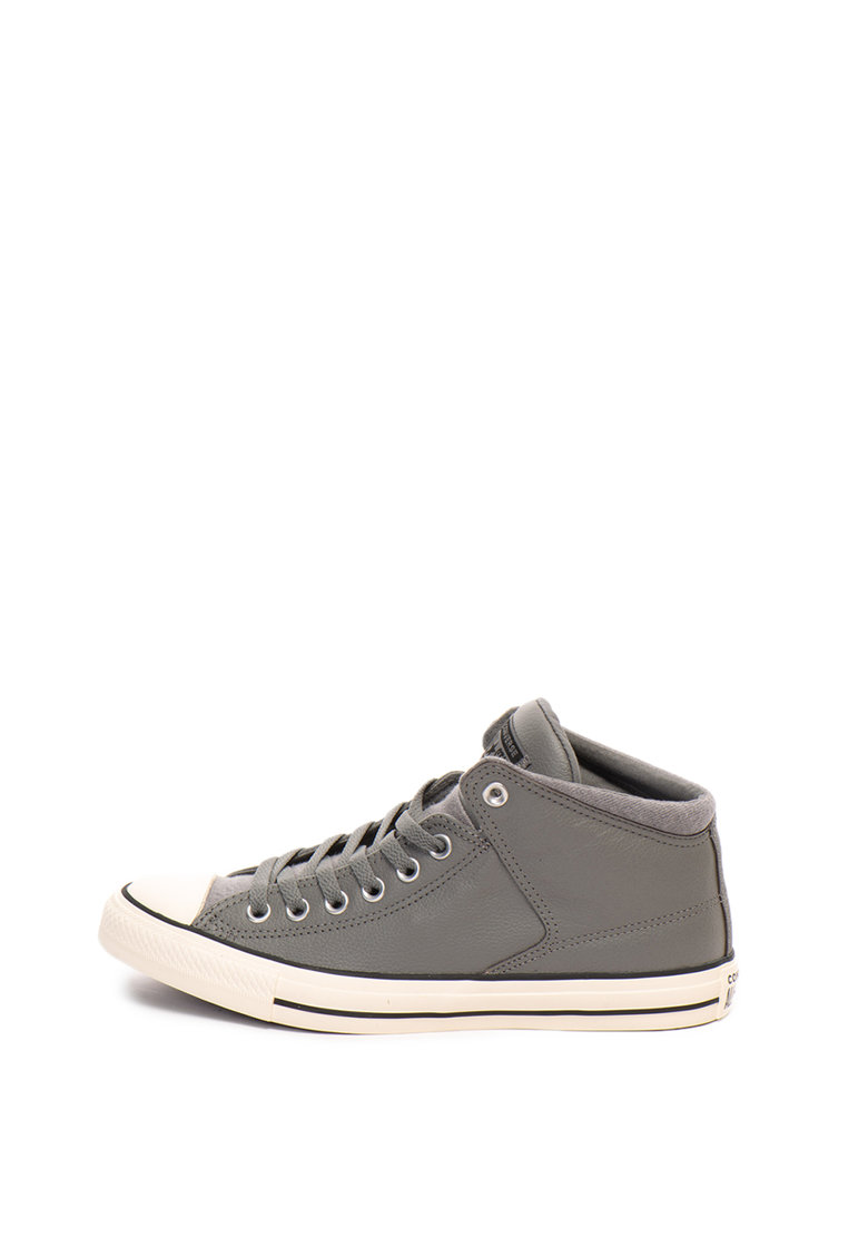 Converse Tenisi mid-high unisex de piele Chuck Taylor All Star