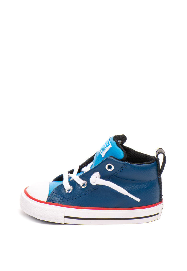 Tenisi mid-high de piele Chuck Taylor All Star Converse