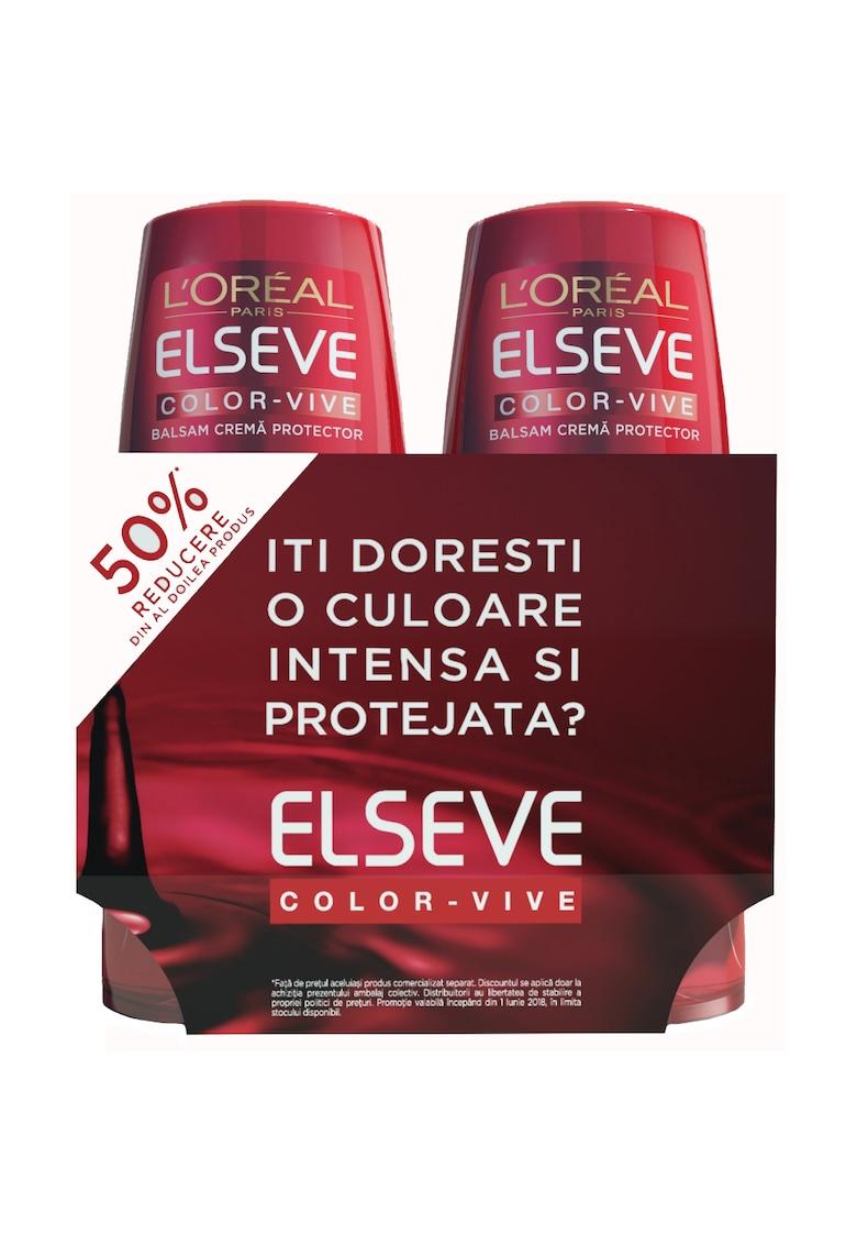 Pachet promotional Balsam Elseve Color Vive protectie si ingrijire pentru par colorat - 200 ml thumbnail