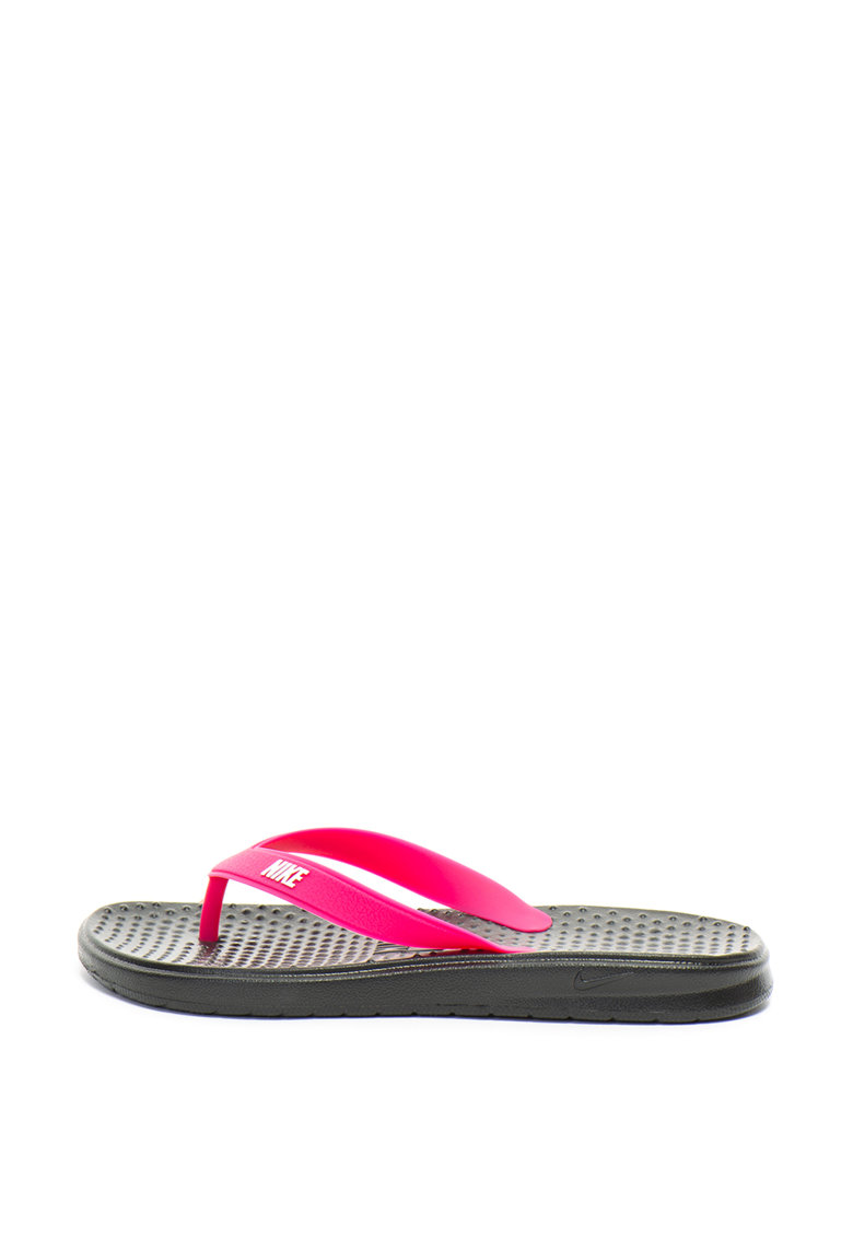 Papuci flip-flop cu imprimeu logo Solay de la Nike