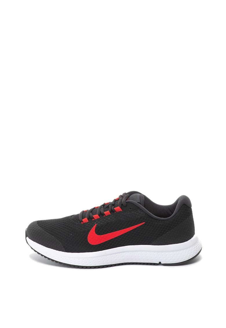 Nike Pantofi sport cu talpa contrastanta Runallday