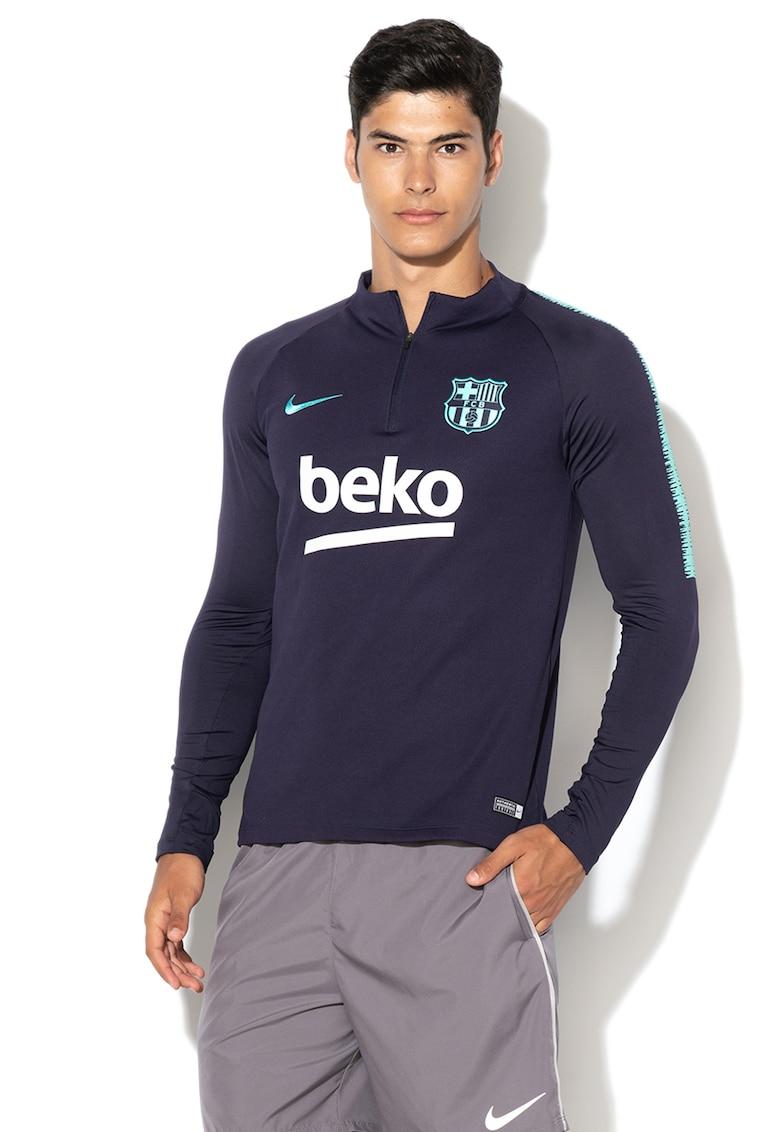 Bluza slim fit pentru fotbal FC Barcelona de la Nike