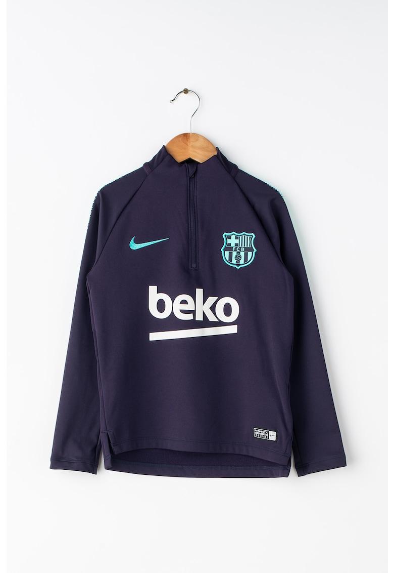 Nike Bluza sport cu fenta cu fermoar – pentru fotbal