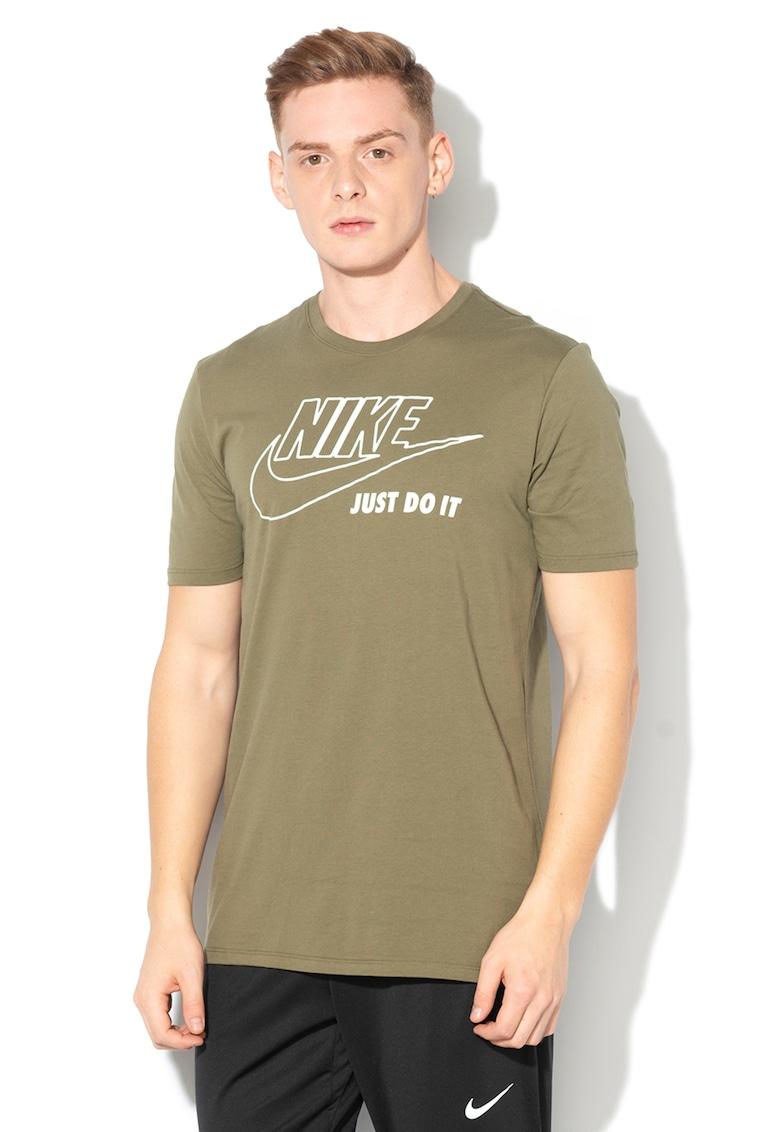 Tricou athletic fit cu imprimeu logo31 Nike