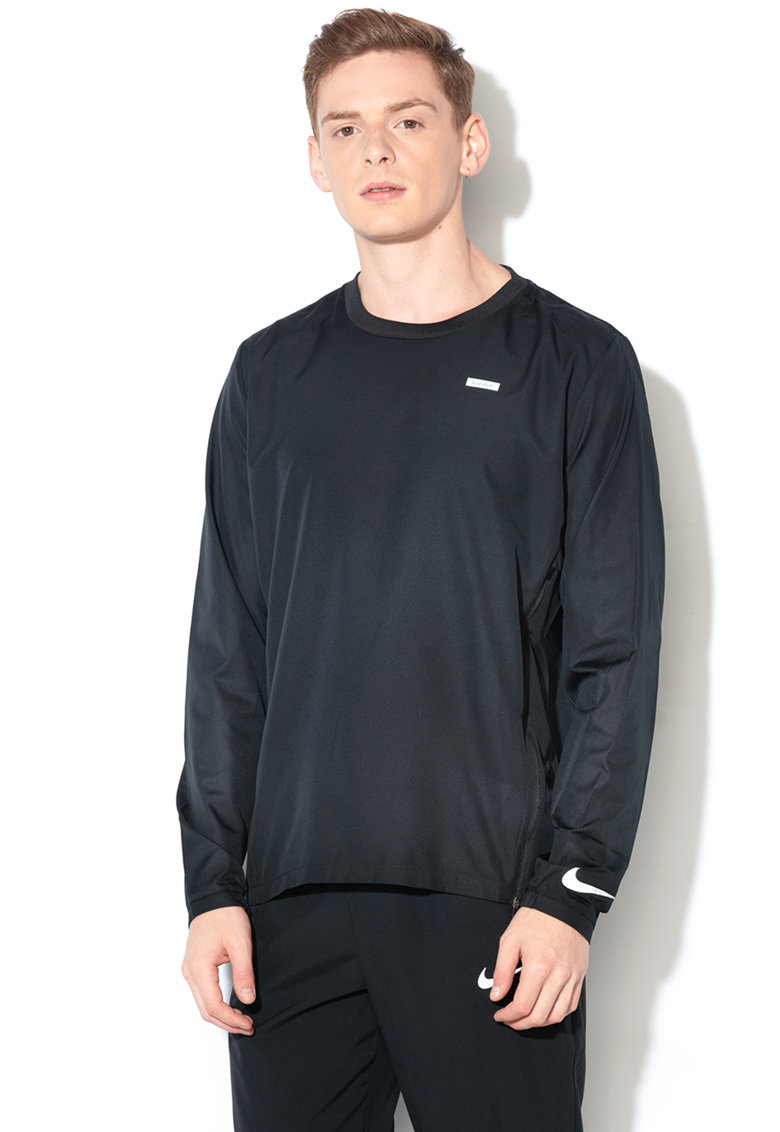 Jacheta impermeabila fara inchidere – pentru alergare de la Nike