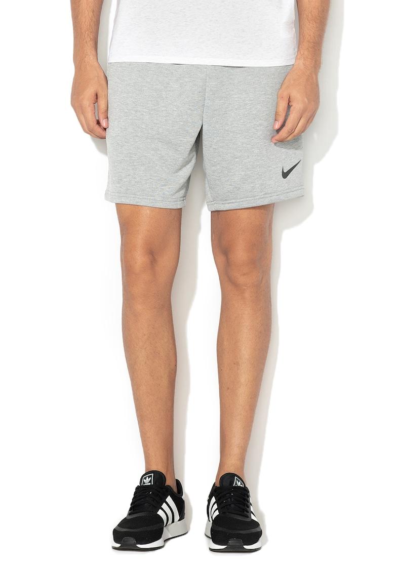 Pantaloni scurti pentru fitness cu banda elastica in talie Dri-Fit Nike