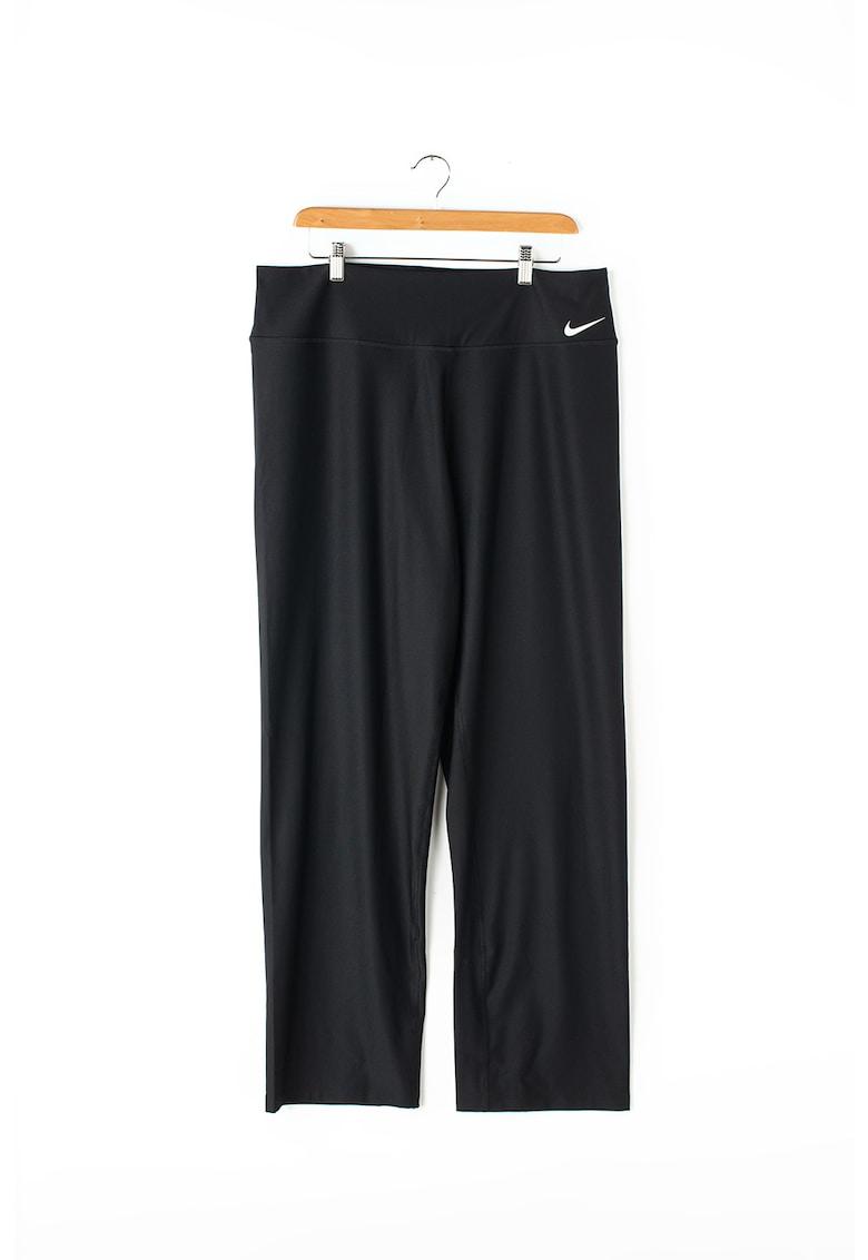 Pantaloni drepti pentru fitness Plus Size Power Dri-Fit