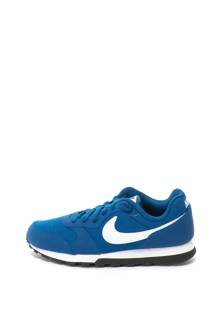Nike Pantofi sport cu garnituri de piele MD Runner 2