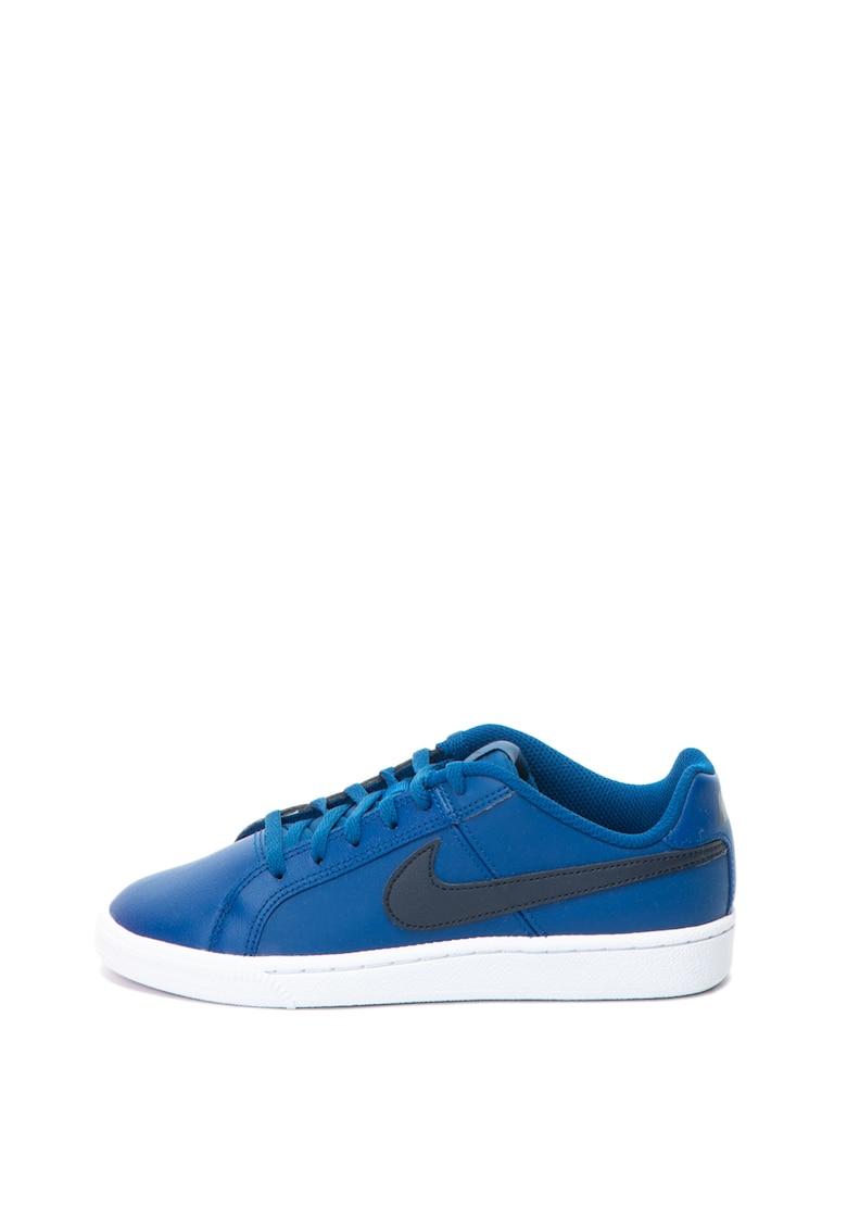 Nike Pantofi sport de piele si piele ecologica Court Royale