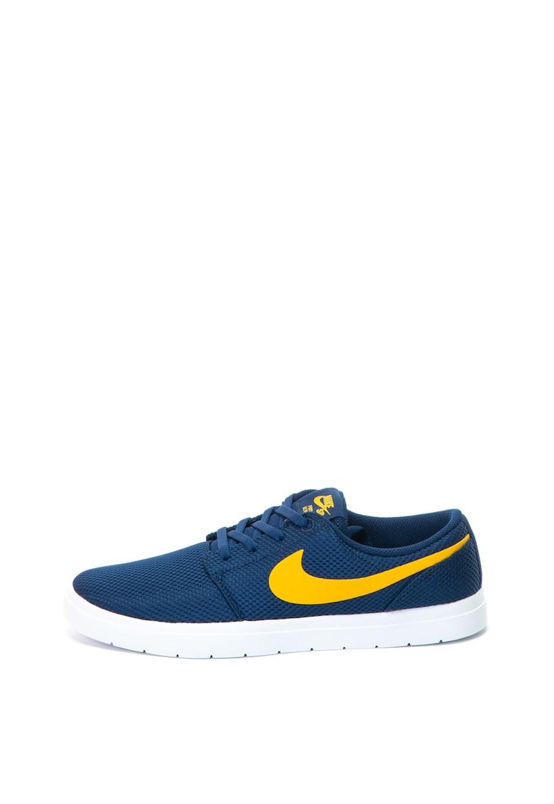 Nike Pantofi sport din material usor SB Portmore II