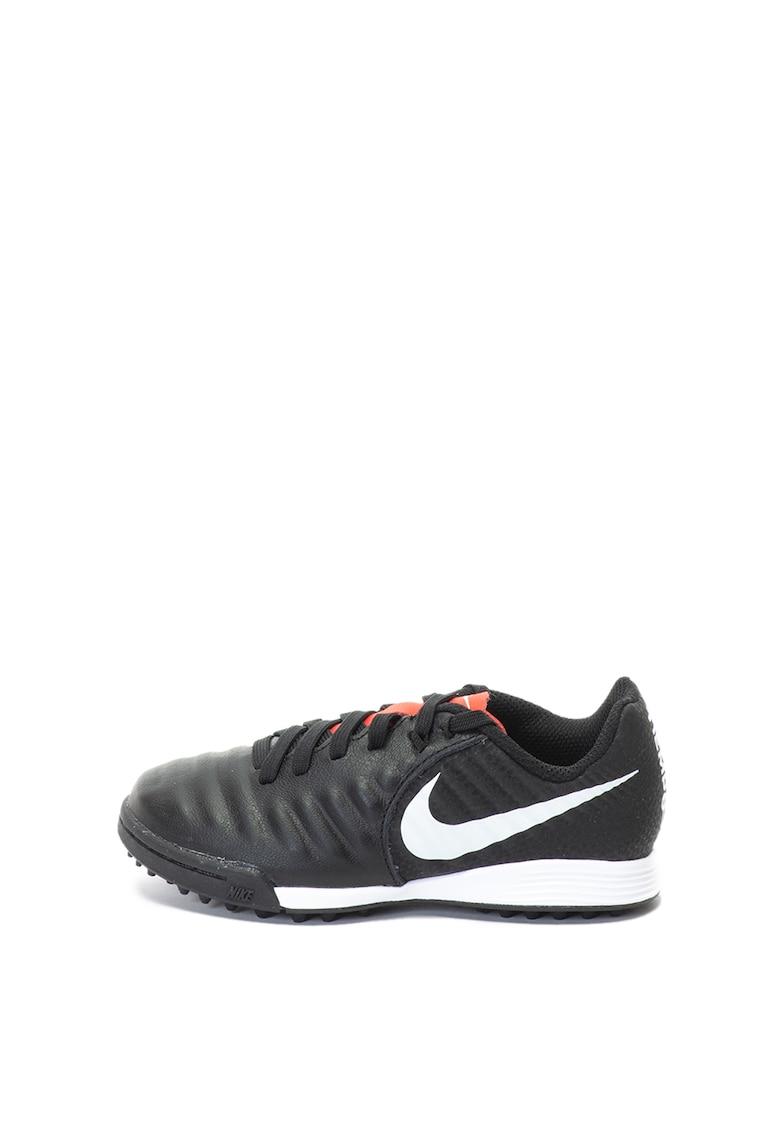 Nike Ghete de piele si piele ecologica cu crampoane – pentru fotbal Jr Legend 7 Academy TF