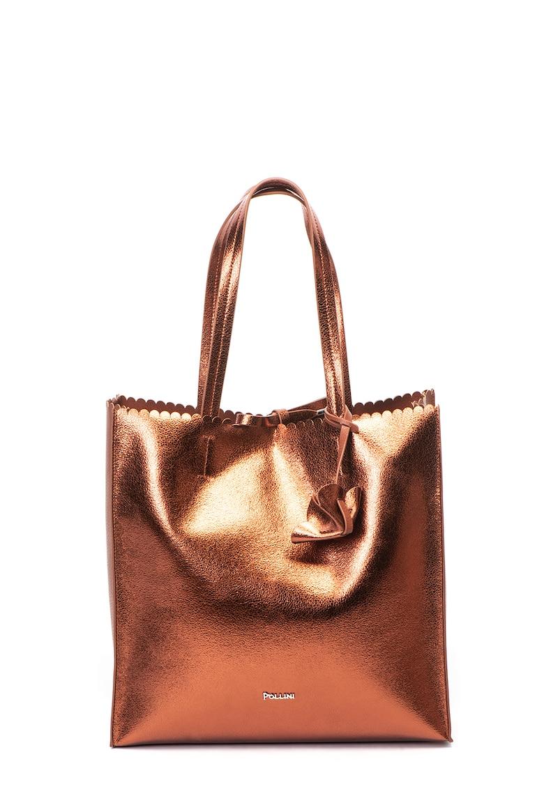5e711ef31b Ökobőr táska fémes felülettel - Pollini (SC4528PP06SF120A)
