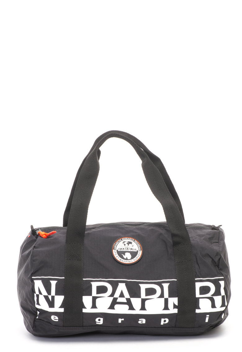 Geanta duffle unisex cu imprimeu logo Bering de la Napapijri