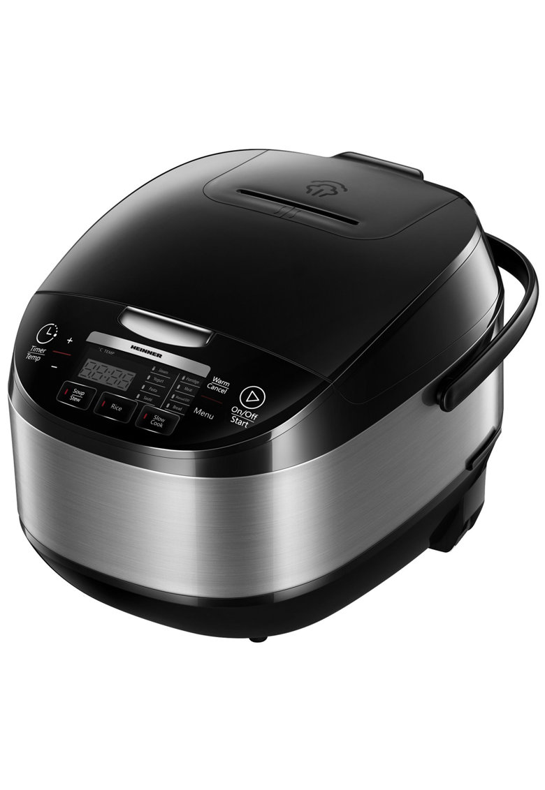 Heinner Multicooker   - 5 L - 770 W - 11 programe - Timer - Control Touch - Functie mentinere la cald - Negru