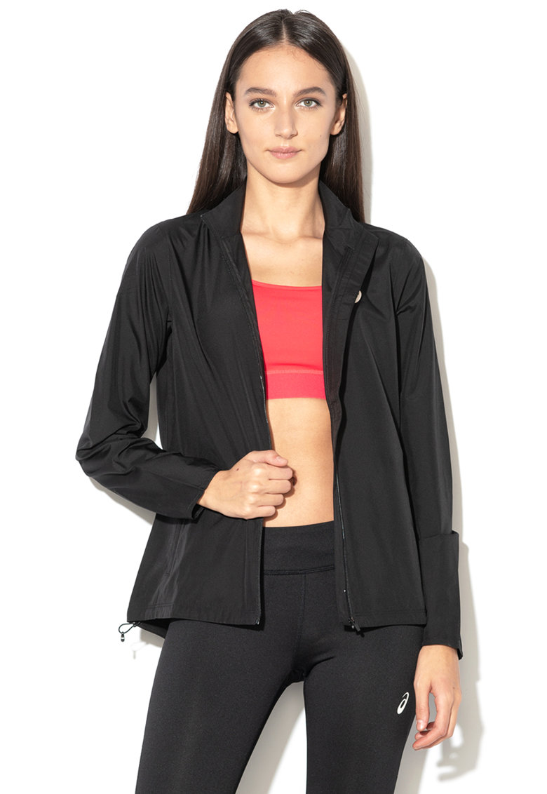Jacheta cu fermoar - pentru alergare Silver Asics fashiondays.ro