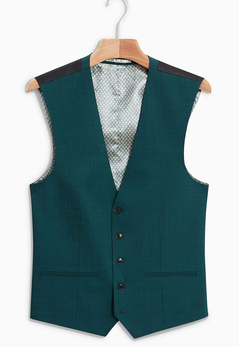 Vesta eleganta din amestec de lana 7A