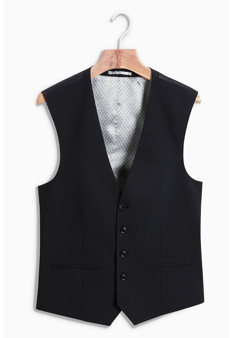Vesta eleganta din amestec de lana 9A