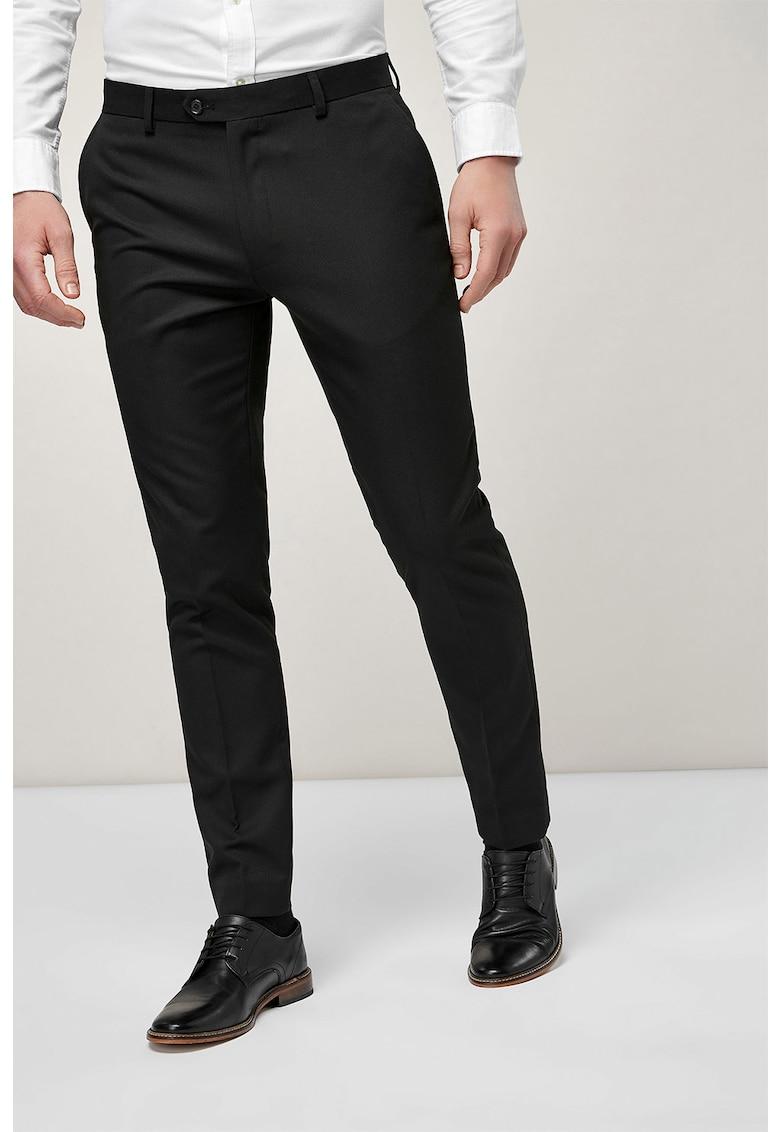 Pantaloni eleganti cu pensa pe partea din fata de la NEXT