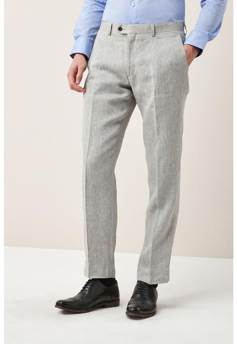 Pantaloni eleganti de in – cu croiala tailored fit de la NEXT